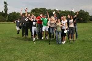 Gruppenevent Waldkirchen Tandemsprung