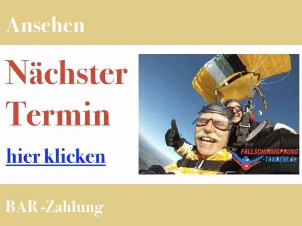 Fallschirmspringen nächste Termine