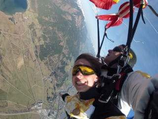 Tandem Fallschirmspringen Dinkelsbühl