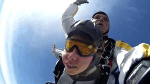 Kinder Tandemsprung Fallschirmspringen