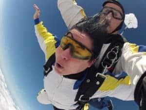 Fallschirmspringen Lauf Tandemspringen