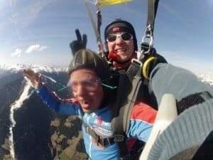 Fallschirmsprung Dinkelsbühl