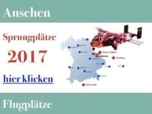 Tandemsprung Flugplatz 2017
