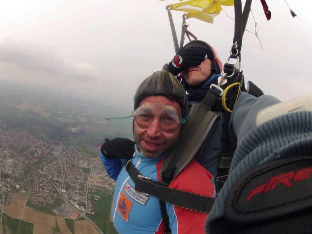 Fallschirmspringer Rothenburg ob der Tauber Tandemsprung