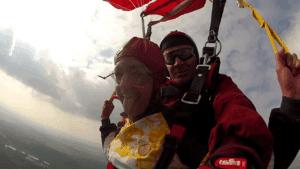 Fallschirmspringen Herzogenaurach Tandemsprung