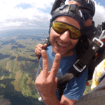 Fallschirmspringen Fromberg / Kirchberg am Walde