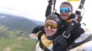 Cham Fallschirmspringen Tandemsprung