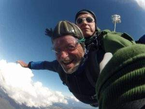 Fallschirmspringen Amberg Tandemsprung