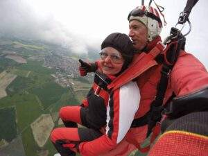 Fallschirmspringen Ast Tandemsprung