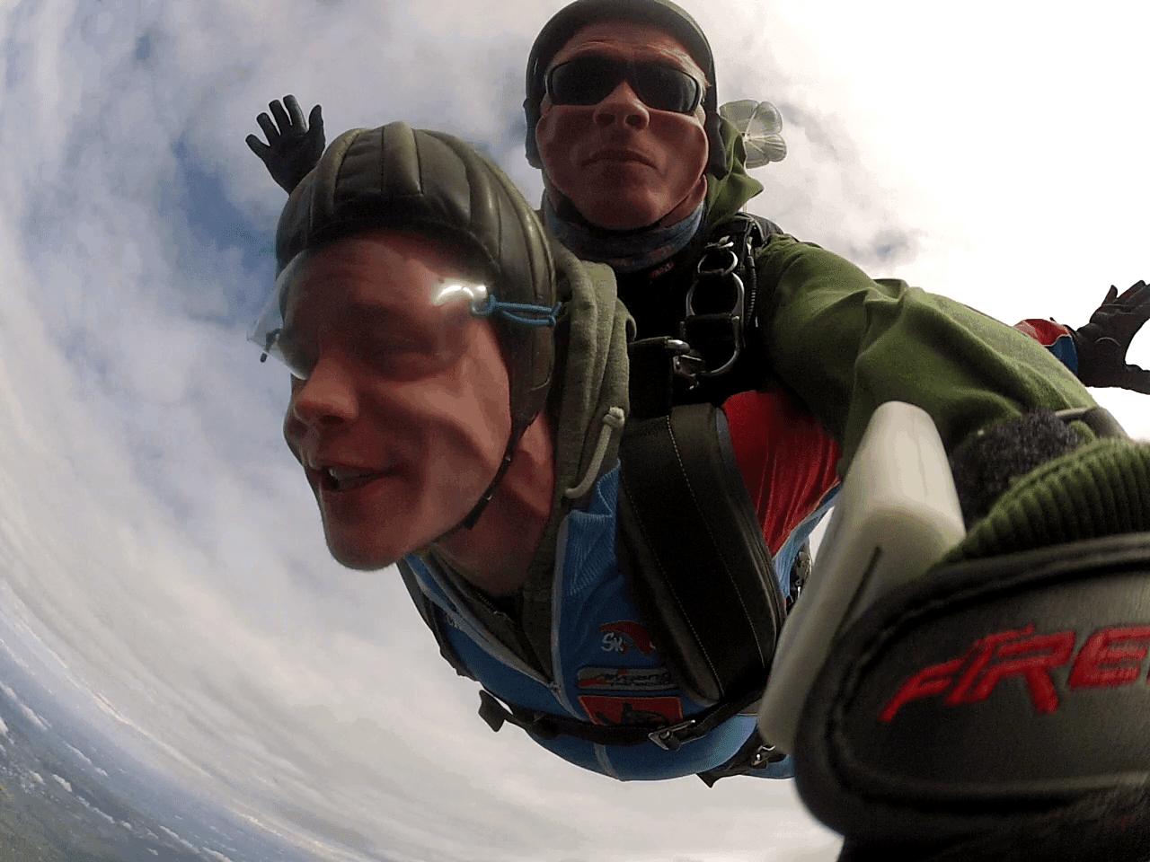 Fallschirmspringen Bad Füssing Tandemsprung