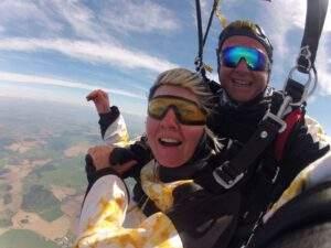 Fallschirmspringen Cham Tandemsprung