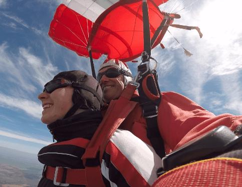 Fallschirmspringen Deggendorf Tandemsprung