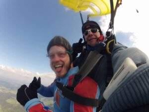 Fallschirmspringen Garching Tandemsprung