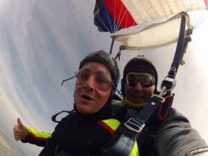 Fallschirmspringen Gebelkofen Tandemsprung