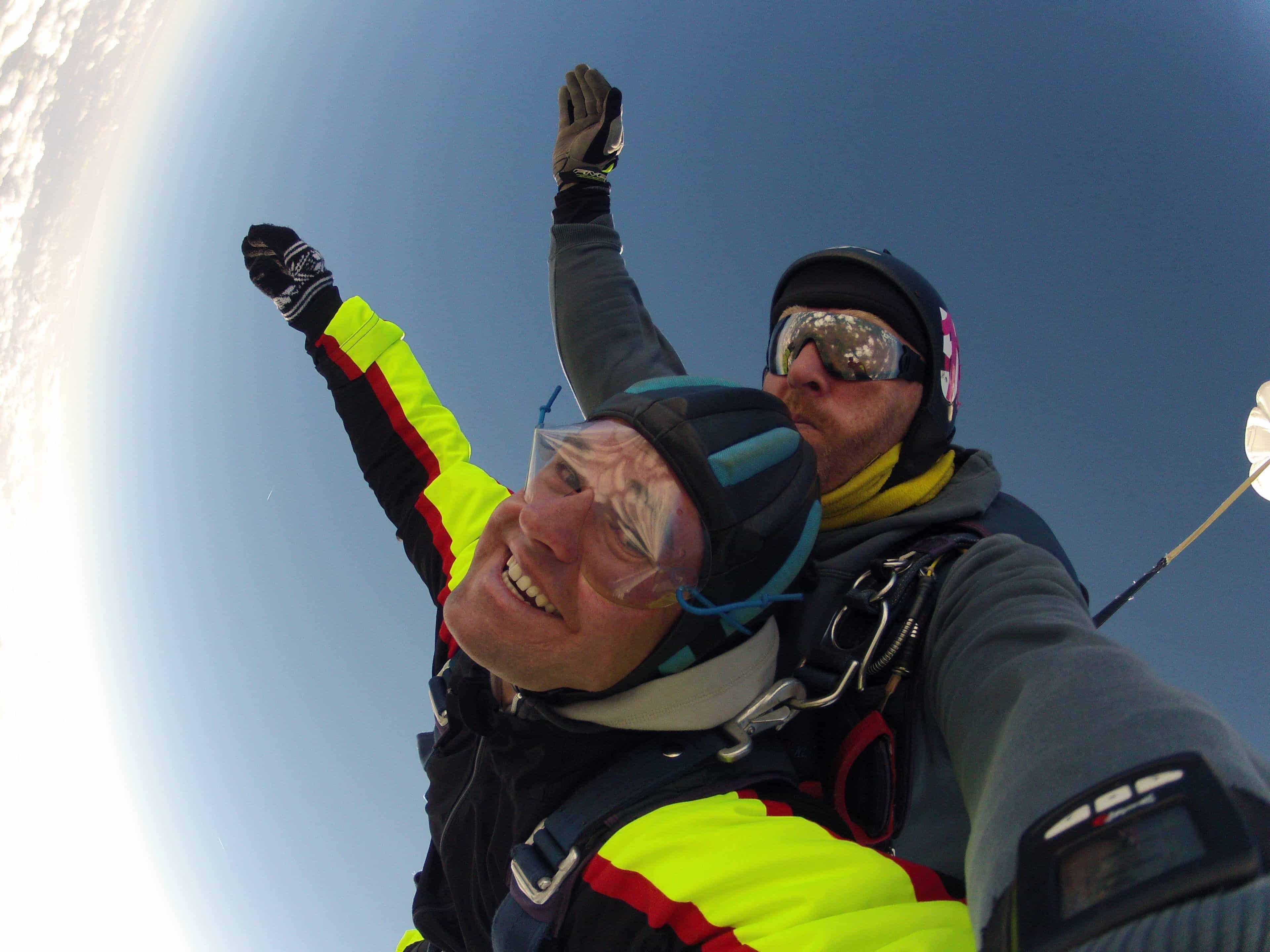 Kelheim Fallschirmspringen Tandemsprung