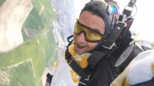 Fallschirmspringen München Klatovy Tandemsprung