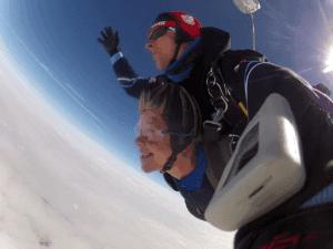 Fallschirmspringen München Tandemsprung