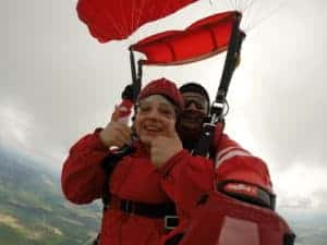 München Fallschirmspringen Tandemsprung