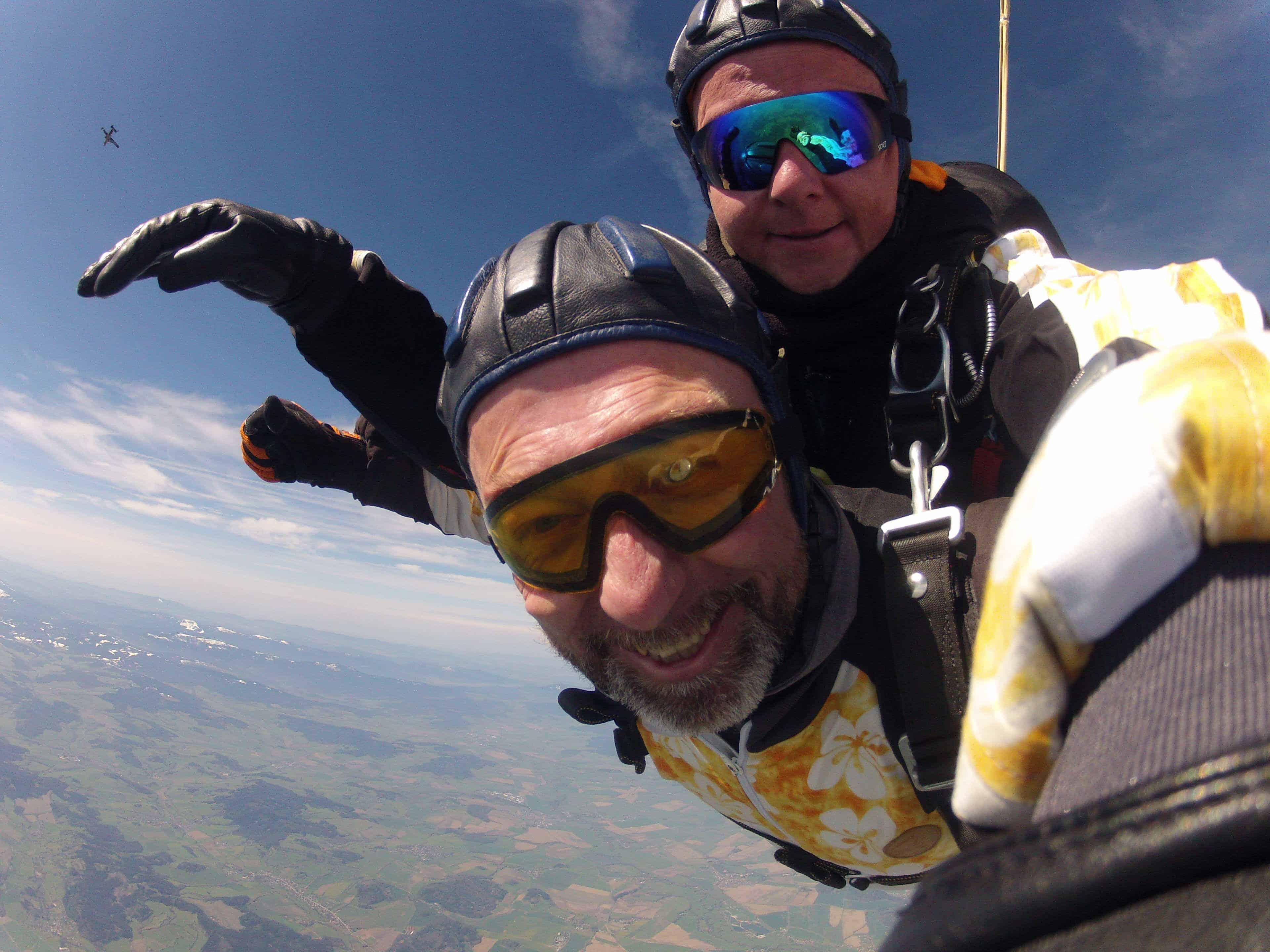 Fallschirmspringen Neustadt Tandemsprung