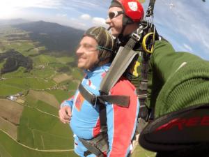 Fallschirmspringen Pfreimd Tandemsprung