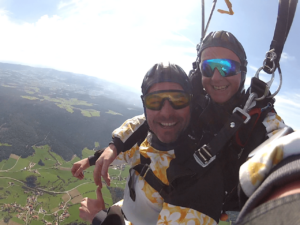 Fallschirmspringen Piding Tandemsprung