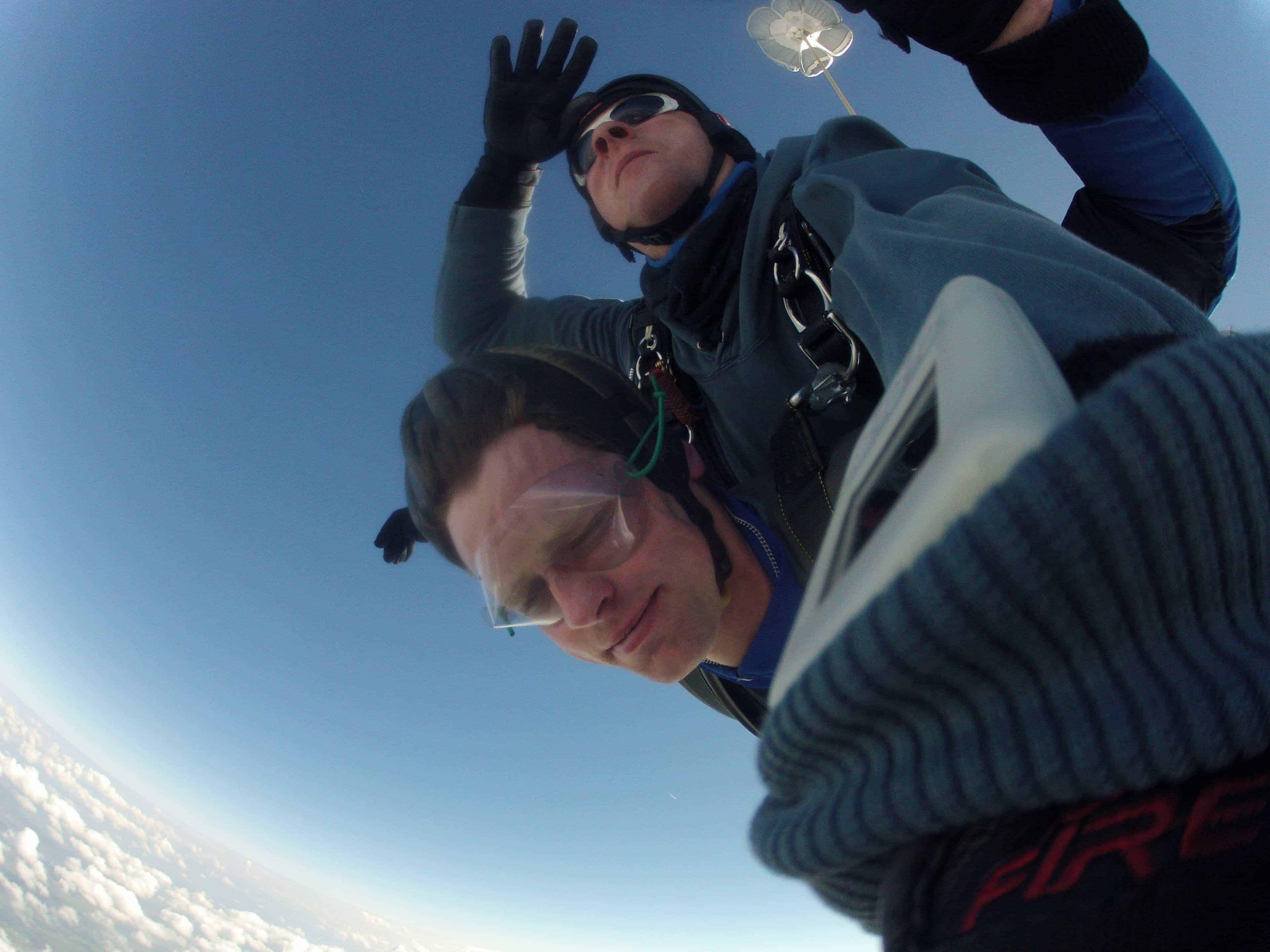 Fallschirmspringen Prackenbach Tandemsprung