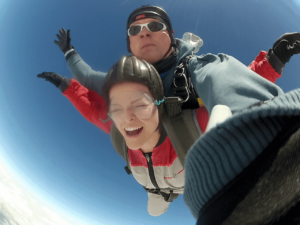 Fallschirmspringen Rattiszell Tandemsprung