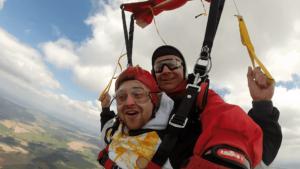 Fallschirmspringen Regensburg Tandemsprung 420