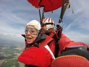 Fallschirmspringen Riedenburg Tandemsprung