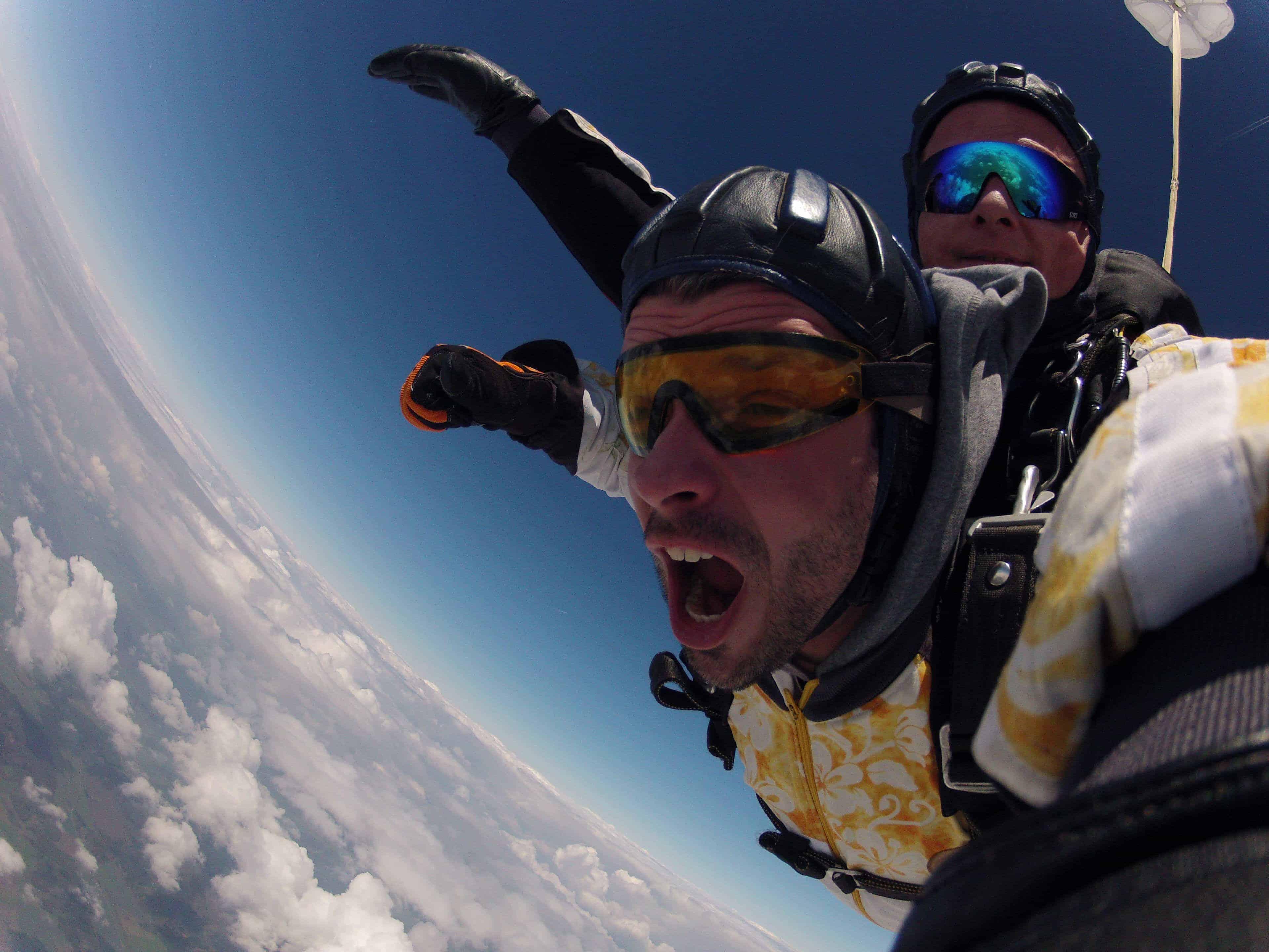 Fallschirmspringen Rosenheim Tandemsprung