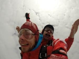 Fallschirmspringen Tiefenbach Tandemsprung
