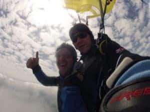 Fallschirmspringen Viechtach Tandemsprung