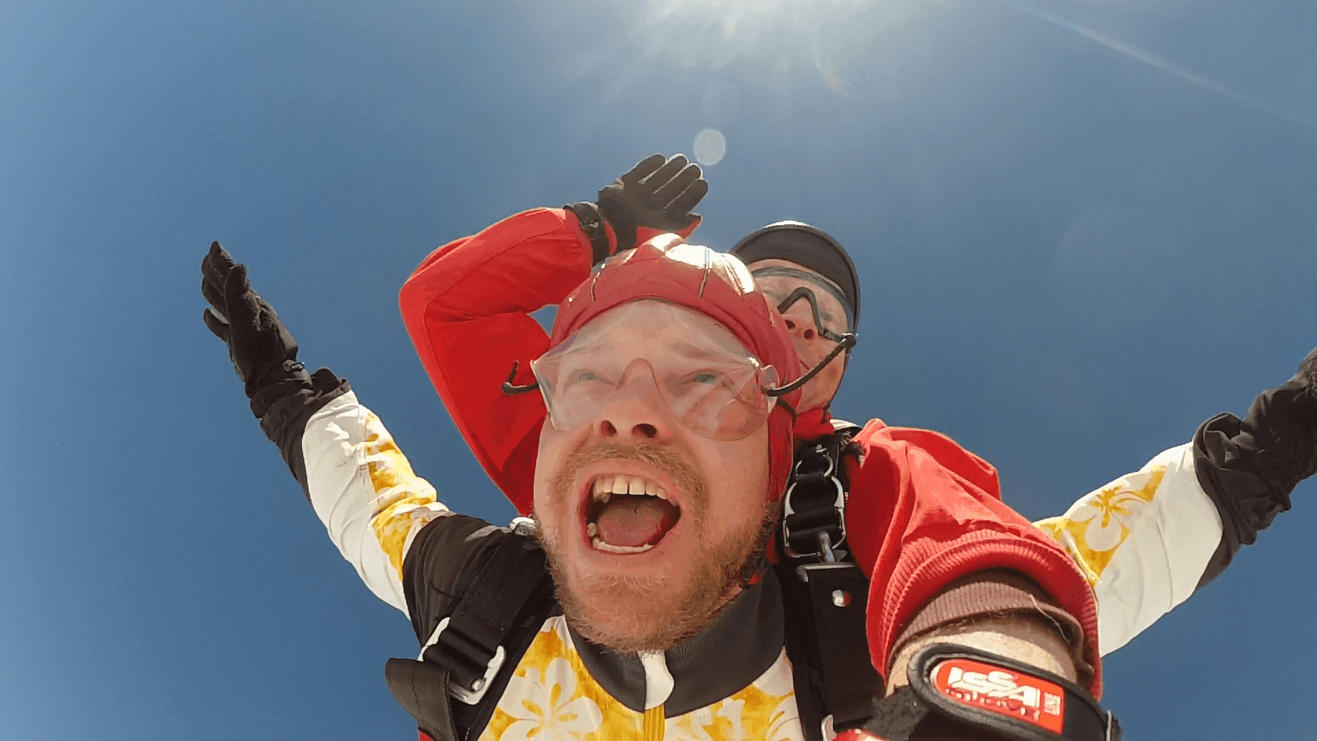Fallschirmspringen Wernberg Köblitz Tandemsprung