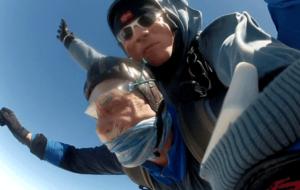 Fallschirmspringen Ortenburg Tandemsprung