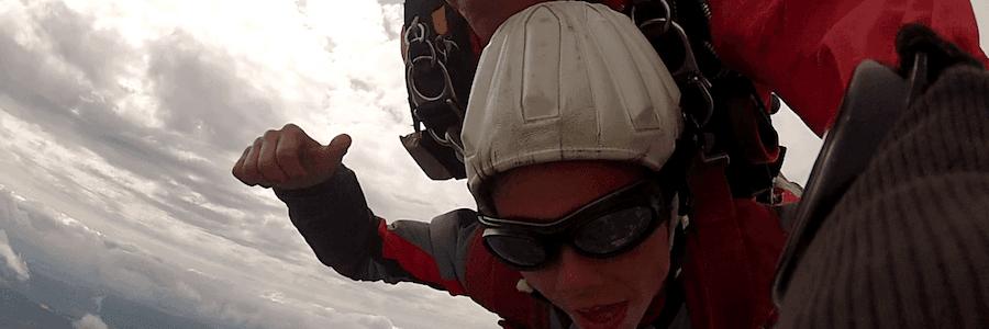 Fallschirmspringen Berchtesgaden Tandemsprung Moritz