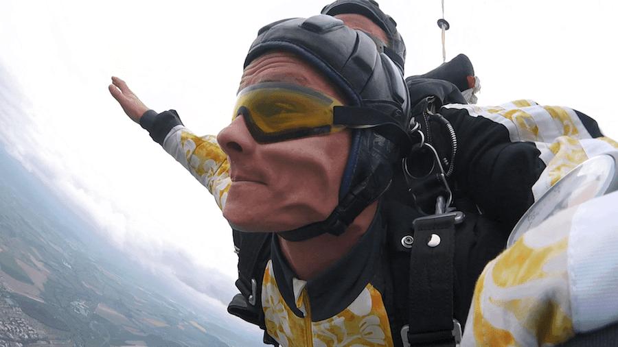 Fallschirmspringen Berchtesgaden Tandemsprung Andras