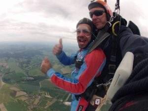 Fallschirmspringen Bremen Tandemsprung Marco