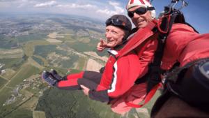 Fallschirmspringen Deggendorf Tandemsprung Martin
