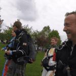 Fallschirmspringen Demling Tandemsprung Petra