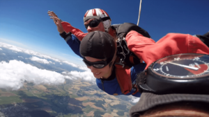 Fallschirmspringen Bad Saulgau Baden Württemberg Tandemsprung