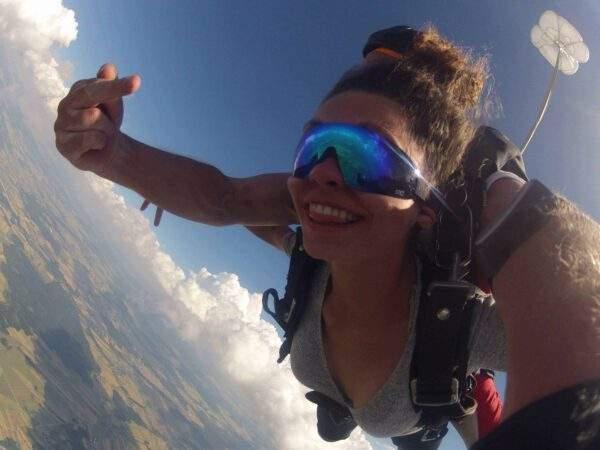 Fallschirmspringen Calden Hessen Tandemsprung