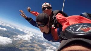 Fallschirmspringen Damme Niedersachsen Tandemsprung