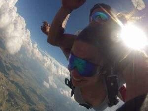 Fallschirmspringen Ganderkesee Niedersachsen Tandemsprung
