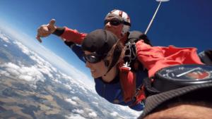 Fallschirmspringen Hohenlockstedt Tandemsprung