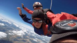 Fallschirmspringen Illertissen Ulm Bayern Tandemsprung