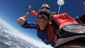 Fallschirmspringen Kaufbeuren Bad Wörishofen Bayern Tandemsprung