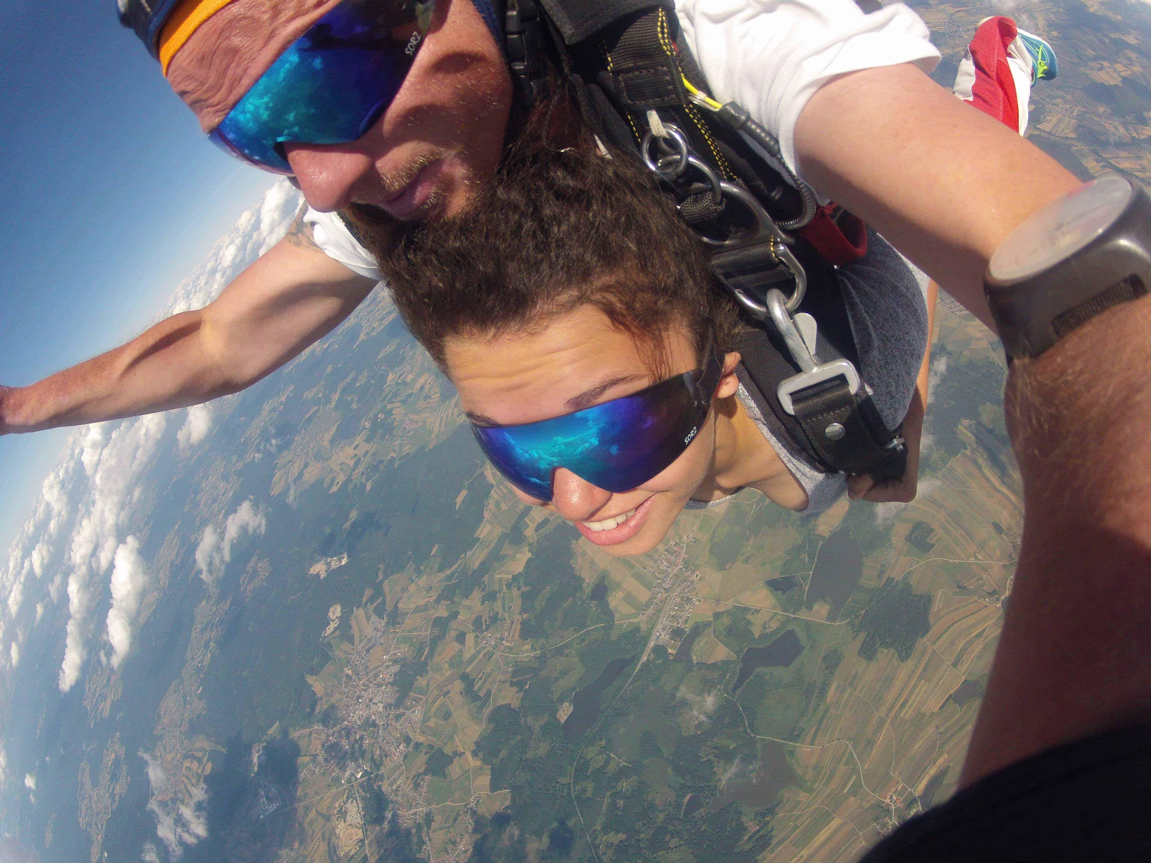 Fallschirmspringen Nrw Tandemsprung