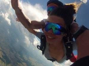Fallschirmspringen Sachsen Tandemsprung