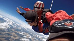 Fallschirmspringen Trier Föhren Rheinland Pfalz Tandemsprung