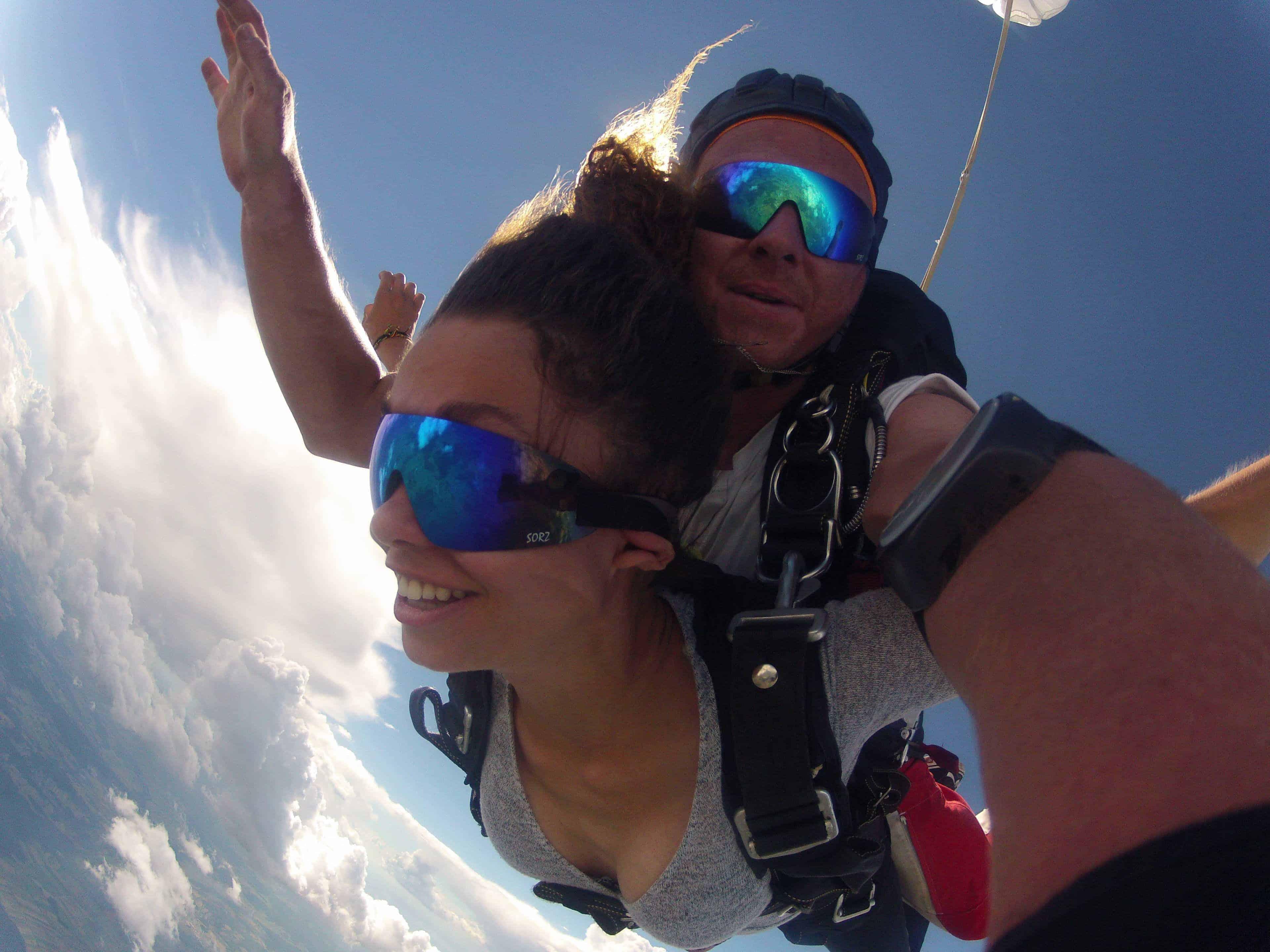 Fallschirmsprung Gutschein Tandemspringen